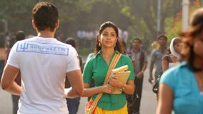 Shriya Saran In Green Top Photoshoot In Kutty Movie